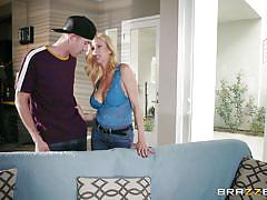milf, blonde, big tits, rimjob, tit fuck, big dick, pussy eating, real wife stories, brazzers, danny d, alexis fawx