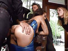 threesome, anal, big ass, babe, public, blowjob, shop, sex slave, disgrace, public disgrace, kink, mona wales, conny dachs, coco chanal