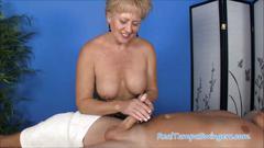 Tracys hand job massage