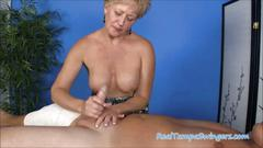 Tracys hand job massage