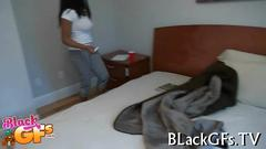 Amazing girl deepthroats dick amateur video 1