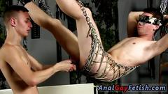 Tied up asian dude is ready for some toying and fucking