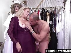 Humiliatedmilfs lascivious milf gets banged