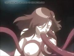 Tentacles hentai anime