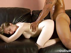 Horny wife haley scott fucked by black man in front of husband