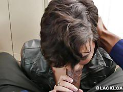 Come in for an interview and suck on this big black cock