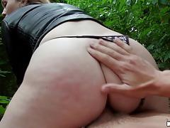 misha cross, blowjob, cumshot, facial, blonde, reverse cowgirl, nature, rider, trees, ride, spunk, fucking
