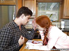 teen, handjob, pigtails, redhead, blowjob, don't fuck my daughter, dolly little