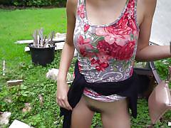 teen, for cash, masturbation, blowjob, picked up, public sex, outdoors, pov, public pickups, mofos network, amber faye