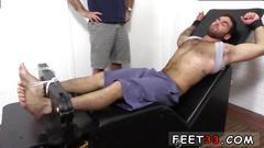 Men pissing on their own feet gay not happening