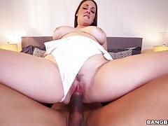 Melanie hicks riding a hard black dick