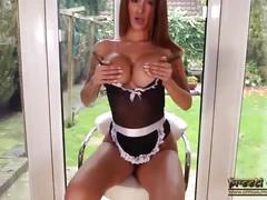 Uk babe priya young maid fantasy strips masturbates pussy see boobs ass sexy
