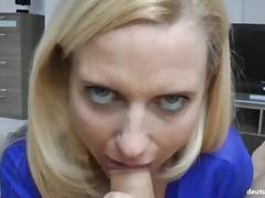 Deutscher dirty talk fick mit geiler amateur milf