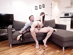 Balls deep in the british pussyhole of stella cox
