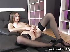 toy, pussy, wet, masturbation, fingering, toys, dildo, solo, orgasm, european, euro, closeup, fingers
