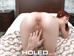Kinky red headed student alexa nova tries anal sex