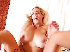 Blonde amateur california milf anal fucking and facial