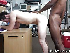 handjob, casting, interracial, riding cock, office, blowjob, from behind, ass licking, bbc, fuck you cracker, toby springs