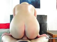 Britney blooms blowjob and rimjob with honey