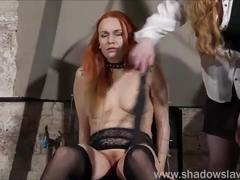 lesbian, pussy, girl, amateur, redhead, piercing, dirty, domination, bdsm, erotic, slave, female, and, play, whipping, dominant, mary