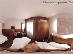 Vr porn brunette fucked in a hotel room