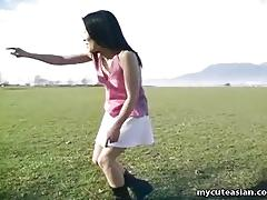 Asian teen dances
