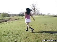 Asian teen dances