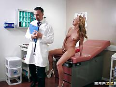 keiran lee, carter cruise, blowjob, riding, doggystyle, cumshot, blonde, doctor, cowgirl, on top, spooning, sucking, licking pussy