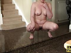 Kinky amateur masturbating