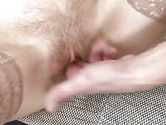blonde, threesome, handjob, mature, amateur, saggy tits, blowjob, fingering, hairy pussy, mature nl, irenka s.