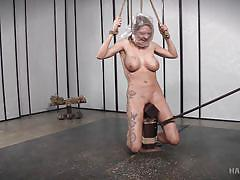 milf, bdsm, black, big tits, interracial, whipping, breathplay, plastic bag, rope bondage, hard tied, rain degrey, jack hammerx