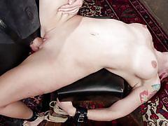 Redhead babe was brutally fucked