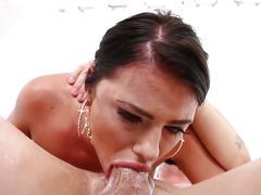 Super sexy pornstar in good action