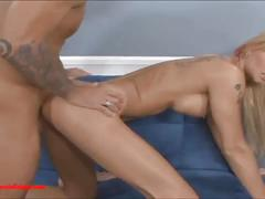 Husband geting piss off  looking at he wife gets fucked by another guys
