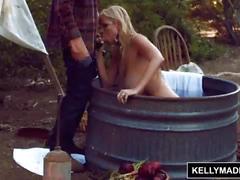 Kelly madison horsin around