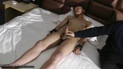 Asian straight boyz bound handjobs