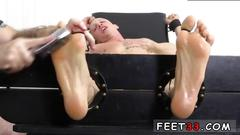 Hairy gay sex movies cristian tickled in the tickle chair