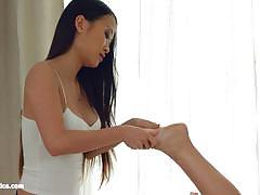 Hot lesbian asian massage from sapphic erotica
