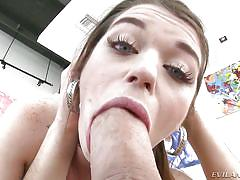 She gaped her hole for me @ ready for anal #03