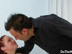 Babe wife takes black cock creampie
