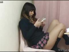 Miniskirt upskirt