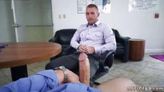 Straight boys first gay kiss first time keeping the boss happy