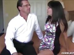 Mature couple huge cumshot