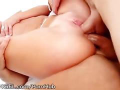 threesome, e, brunette, mick blue, roxy raye, criss strokes