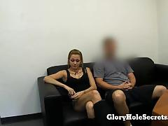 ex girlfriend, blowjob, tits, swallow, deep throat, pussy, porn, boobs, gagging, gloryhole, cumming