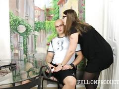 Milf madisin lee fucks stepson to help him concentrate