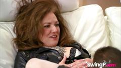 Swapping partners in reality makes babes pleased