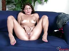 Babe lexi bloom sprayed with cum