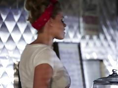 Banged the minge of waitress jessa rhodes