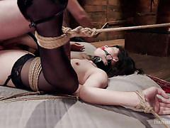 Yhivi gets her slave training